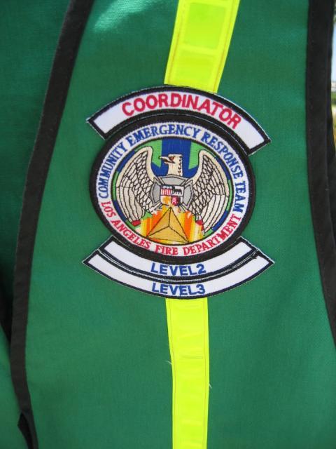 CERT Vest - patches2