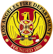 Los Angeles Fire Department Logo and link to their website