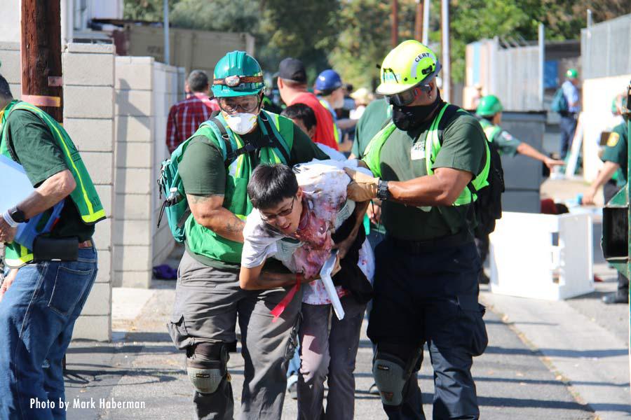 Canoga Park Gas Explosion Drill – Aug. 27, 2016