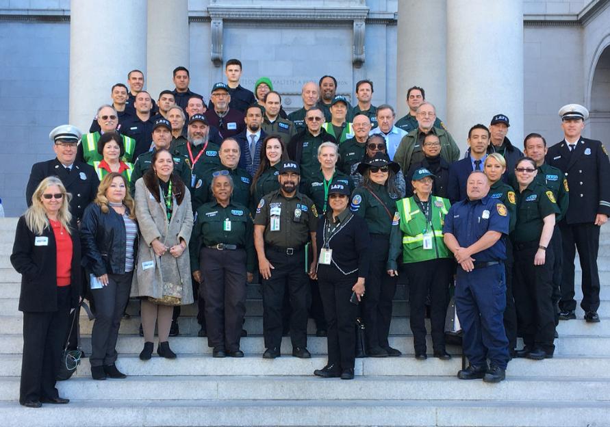 LAFD Recognizes Wildfire Volunteers